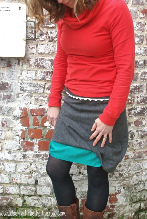 Renfrew Top and Yoked Skirt // Behind the Hedgerow