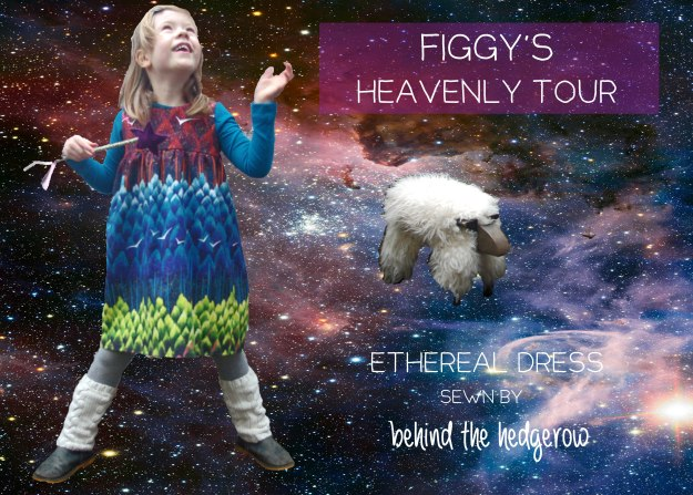 Figgy's patterns - Ethereal dress // Behind the Hedgerow