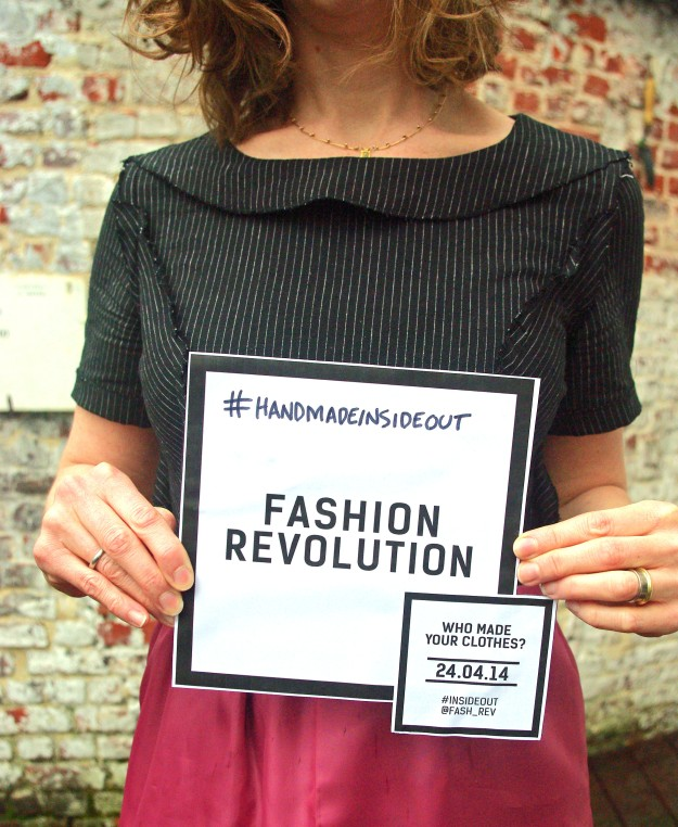 Fashion Revolution - #insideout #handmadeinsideout