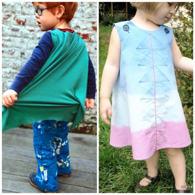 Kid's clothes refashion